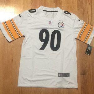 Pittsburgh Steelers #90 Watt Jersey